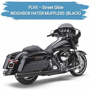 (06-16) 할리 코브라 NEIGHBOR HATER (BLACK) 슬립온 머플러 베거스 스트리트 글라이드