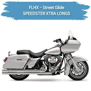 (06-08) SPEEDSTER XTRA LONGS 풀시스템 할리 머플러 코브라 베거스 스트리트 글라이드