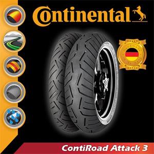 콘티넨탈 오토바이타이어 콘티로드어택3 R 160/60-18 M/C 70W TL