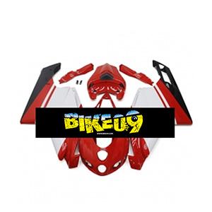 두카티999, 두카티749(05-06)-Gloss Red White Ducati 사제카울