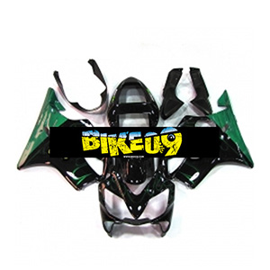 혼다 CBR600 F4i(01-03)-Black Green Flame Honda 사제카울