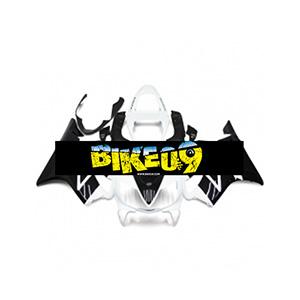 혼다 CBR600 F4i(01-03)-Black White Honda 사제카울