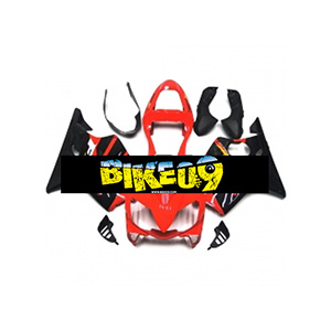 혼다 CBR600 F4i(01-03)-Red Black Honda 사제카울