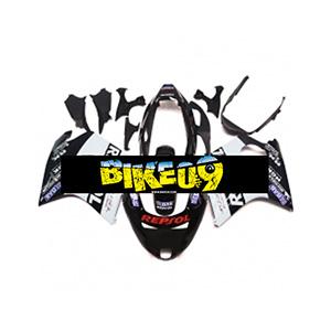 혼다 CBR1100XX(97-07)-Repsol Black White Honda 사제카울