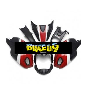 두카티696, 두카티796, 두카티795, 몬스터1000, 몬스터1100(09-11)-Gloss Red Black A타입 Ducati 사제카울