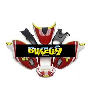 두카티696, 두카티796, 두카티795, 몬스터1000, 몬스터1100(09-11)-Gloss Red A타입 Ducati 사제카울
