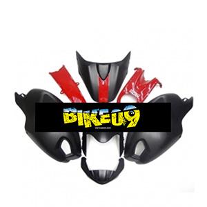 두카티696, 두카티796, 두카티795, 몬스터1000, 몬스터1100(09-11)-Matte Black Red Ducati 사제카울