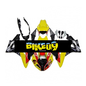 BMW S1000RR(11-14)-Yellow Black 사제카울