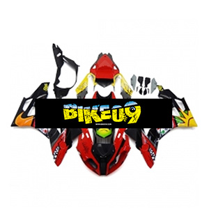 BMW S1000RR(11-14)-Red Yellow Black 사제카울