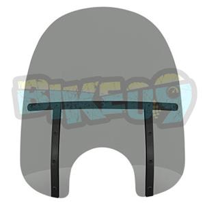 "MEB31112 팻 윈드쉴드- 블랙 스모크- 13"" - 오토바이 할리 아메리칸 윈드쉴드 윈드스크린 2311-0102"