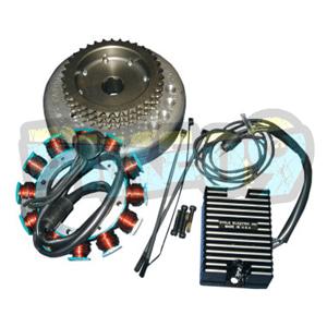 CE-20S 20A 알테네이터 키트 할리 데이비슨 - 오토바이 제네레다 코일 알테네이터 스타터 발전기 부품 2112-0852