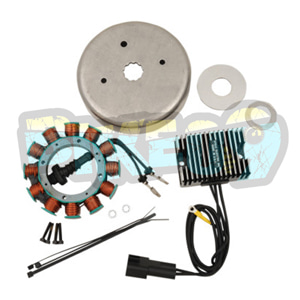 CE-32TL 30A 알테네이터 키트 할리 데이비슨 - 오토바이 제네레다 코일 알테네이터 스타터 발전기 부품 2112-1130