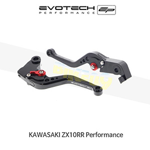 에보텍 KAWASAKI 가와사키 ZX10RR Performance EP KAWASAKI ZX-10RR PERFORMANCESHORT CLUTCH AND BRAKE LEVER SET 2018+