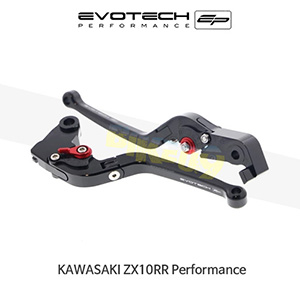 에보텍 KAWASAKI 가와사키 ZX10RR Performance EP FOLDING CLUTCH AND BRAKE LEVER SET 2018+