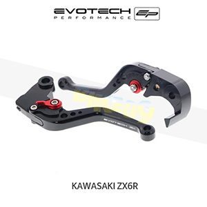 에보텍 KAWASAKI 가와사키 ZX6R EP SHORT CLUTCH AND BRAKE LEVER SET 2005-2006