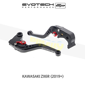 에보텍 KAWASAKI 가와사키 ZX6R EP SHORT CLUTCH AND BRAKE LEVER SET 2019+