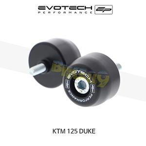 에보텍 KTM 125듀크 EP FRONT SPINDLE BOBBINS 2011-2016