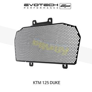 에보텍 KTM 125듀크 EP RADIATOR GUARD 2011-2016