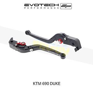 에보텍 KTM 690듀크 접이식클러치브레이크레버세트 2007-2011