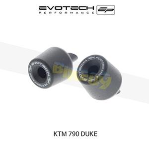 에보텍 KTM 790듀크 핸들바엔드 2018+ (BLACK)