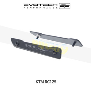 에보텍 KTM RC125 미러블랭킹플레이트 2014+