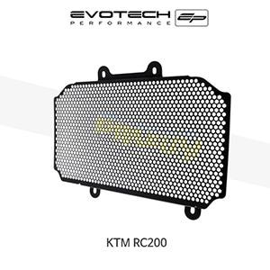 에보텍 KTM RC200 라지에다가드 2014+