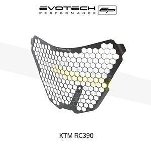에보텍 KTM RC390 헤드라이트가드 2014+