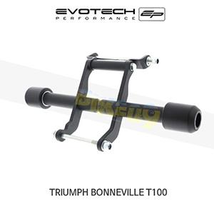 에보텍 TRIUMPH 트라이엄프 본네빌 T100 크래쉬슬라이더 2002-2016