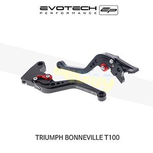 에보텍 TRIUMPH 트라이엄프 본네빌 T100 숏클러치브레이크레버세트 2002-2016