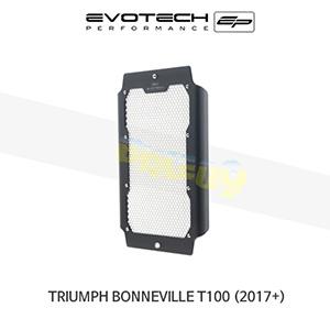 에보텍 TRIUMPH 트라이엄프 본네빌 T100 라지에다가드 2017+ (Silver)