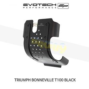 에보텍 TRIUMPH 트라이엄프 본네빌 T100 Black 엔진가드 2017+