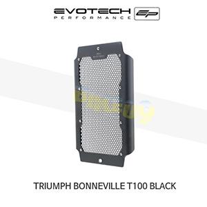 에보텍 TRIUMPH 트라이엄프 본네빌 T100 Black 라지에다가드 2017+ (Black)