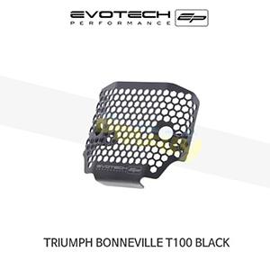 에보텍 TRIUMPH 트라이엄프 본네빌 T100 Black 렉티피어가드 2017+