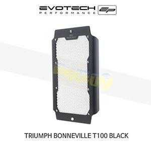 에보텍 TRIUMPH 트라이엄프 본네빌 T100 Black 라지에다가드 2017+ (Silver)