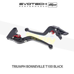 에보텍 TRIUMPH 트라이엄프 본네빌 T100 Black 접이식클러치브레이크레버세트 2017+
