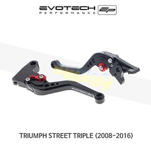 에보텍 TRIUMPH 트라이엄프 스트리트 트리플 숏클러치브레이크레버세트 2008-2016