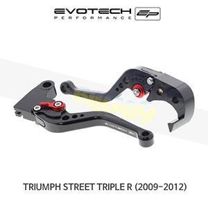 에보텍 TRIUMPH 트라이엄프 스트리트 트리플 R 숏클러치브레이크레버세트 2009-2016