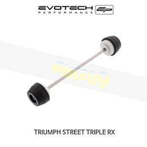 에보텍 TRIUMPH 트라이엄프 스트리트 트리플 RX 프론트휠포크슬라이더 2015-2016