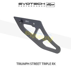 에보텍 TRIUMPH 트라이엄프 스트리트 트리플 RX 카본섬유샤크핀토가드 2015-2016