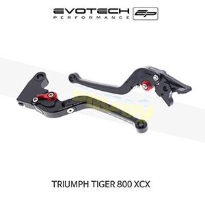 에보텍 TRIUMPH 트라이엄프 타이거800 XCX 접이식클러치브레이크레버세트 2015+
