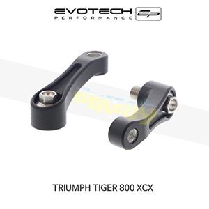 에보텍 TRIUMPH 트라이엄프 타이거800 XCX 미러확장브라켓 2015+