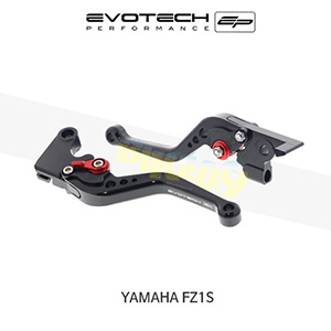 에보텍 YAMAHA 야마하 페이저 FZ1S 숏클러치브레이크레버세트 2006-2015