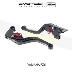 에보텍 YAMAHA 야마하 페이저 FZ6 숏클러치브레이크레버세트 2004-2015