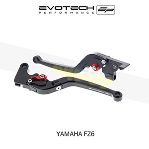 에보텍 YAMAHA 야마하 페이저 FZ6 접이식클러치브레이크레버세트 2004-2015