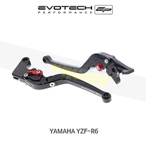 에보텍 YAMAHA 야마하 YZF R6 접이식클러치브레이크레버세트 2001-2004