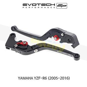 에보텍 YAMAHA 야마하 YZF R6 접이식클러치브레이크레버세트 2005-2016