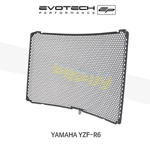 에보텍 YAMAHA 야마하 YZF R6 라지에다가드 2006-2016