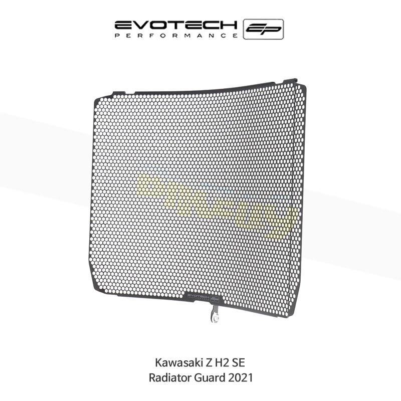 에보텍 KAWASAKI 가와사키 Z H2 SE 라지에다가드 2021 PRN012366-11