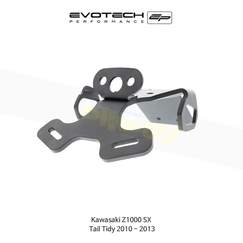 에보텍 KAWASAKI 가와사키 Z1000SX 번호판휀다리스킷 2010-2013 PRN007851-01