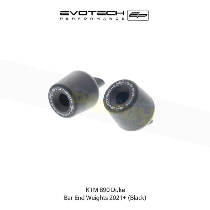 에보텍 KTM 890듀크 핸들바엔드 2021+ (Black) PRN013800-09